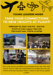 YOUNG LEADERS MIXER - TAKE FLIGHT @ Mess Hall at Flight