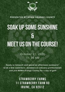 SOAK UP SOME SUNSHINE & MEET US ON THE COURSE! @ Strawberry Farms Golf Course